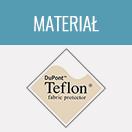 Materiał - Teflon